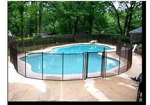 pool fence photos