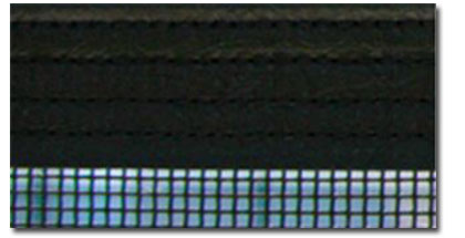 quad stitch border