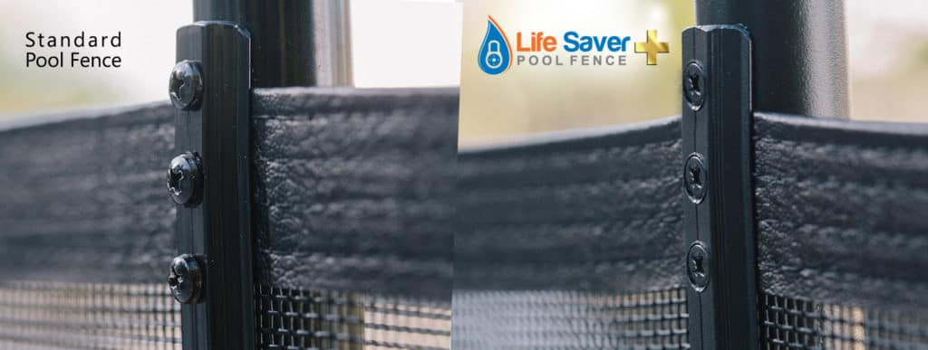 Life Saver mesh pool fence installations in Dallas, Fort Worth & Arlington, TX
